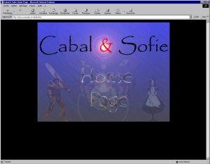 Site de Cabal et Sofie