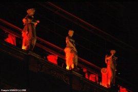 Lyon - Les statues de l'opéra