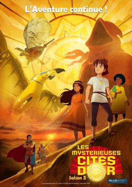 Les Mystérieuses Cités d'Or - Saison 3
