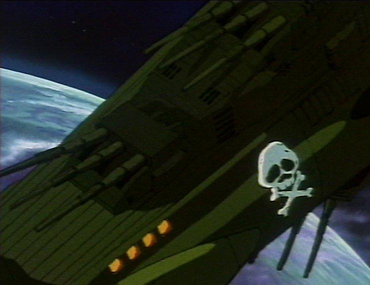 L'Atlantis et ses lasero-canons