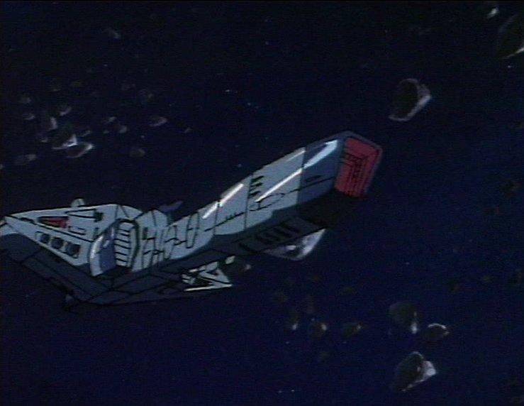 Le prototype d'un vaisseau conçu par Zon