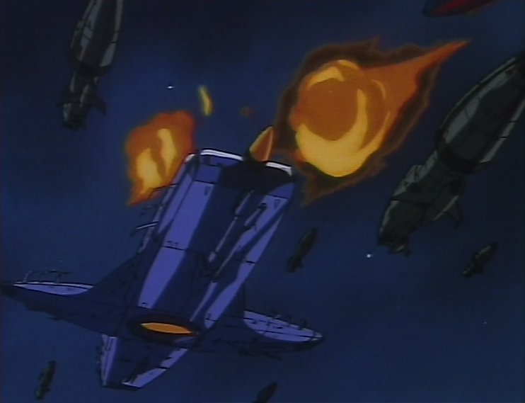 Vaisseau amiral humanoïde