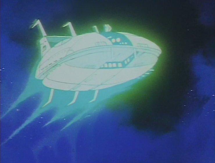Le vaisseau Le Photon