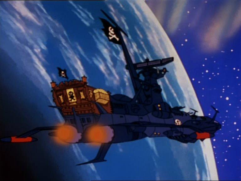 L'Atlantis en orbite autour de la Terre