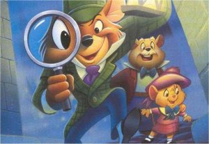 Dessins animés : Basil, détective privé (Walt Disney)