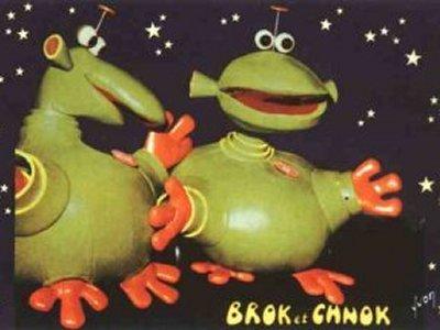 Dessins Animés : Brok et Chnok