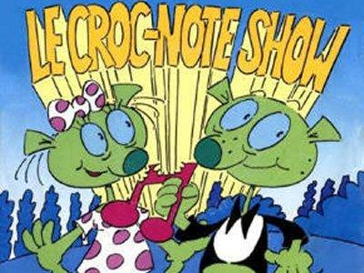 Dessins animés : Le Croc-Note Show