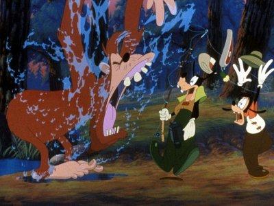 Dessins Animés : Dingo & Max (A Goofy Movie, Walt Disney)