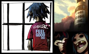 Dessins animés : Gorillaz - Feel Good Inc (clip)