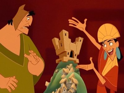 Dessins Animés : Kuzco, l'Empereur Mégalo (The Emperor's New Groove)