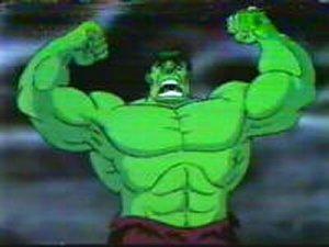 Dessins Animés : L'incroyable Hulk