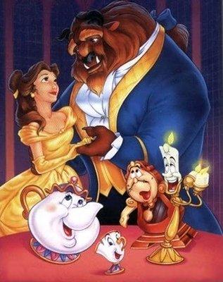Dessins animés : La Belle et la Bête (Walt Disney)