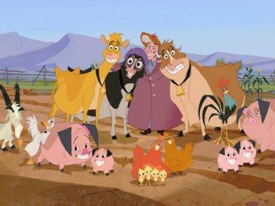 Dessins animés : La Ferme se rebelle (Walt Disney)
