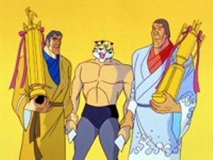 Dessins animés : Le Tigre, l'Invincible Masqué (Tiger Mask II)
