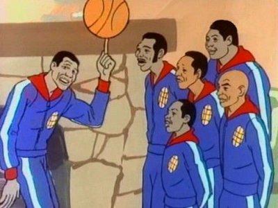 Dessins animés : Les Harlem Globetrotters