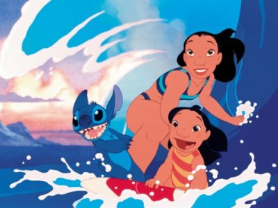 Dessins animés : Lilo & Stitch (Walt Disney)