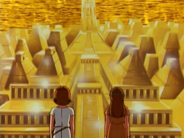 Une des Mystérieuses Cités d'Or - Saison 1