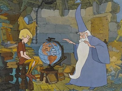Dessins Animés : Merlin l'enchanteur (Walt Disney)