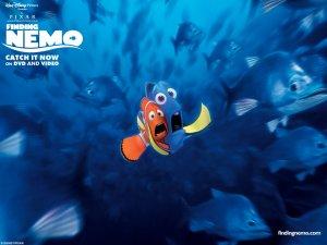 Dessins animés : Le Monde de Némo (Pixar)