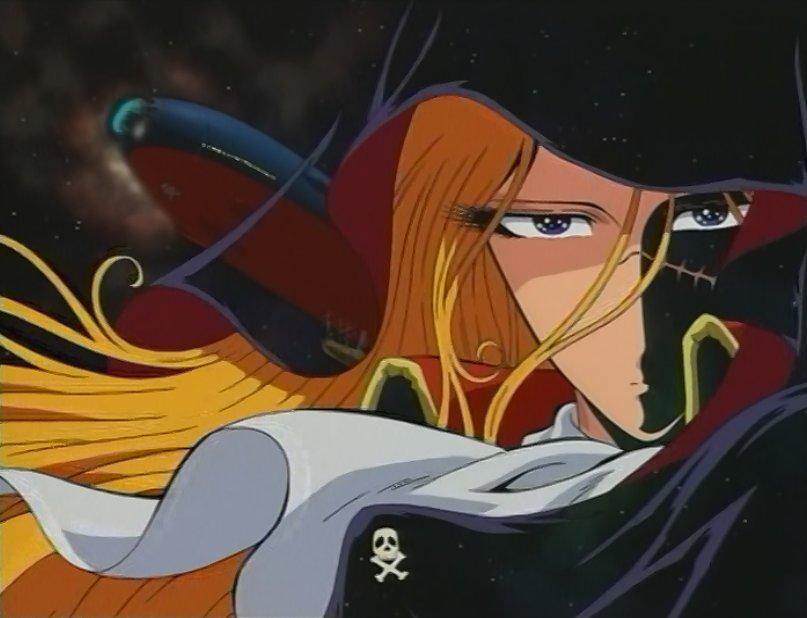 Albator Femme Pirate emeraldas et ses compagnons albator et alfred - alwebsite