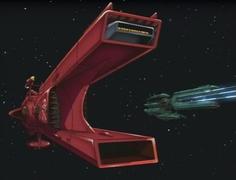 Les vaisseaux des forces armées d'Alfress