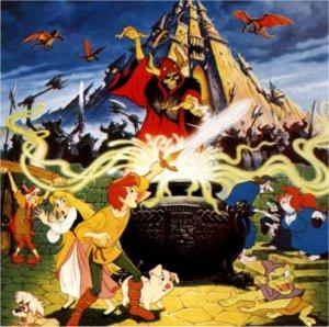 Dessins animés : Taram et le Chaudron Magique (Walt Disney)