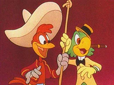Dessins animés : Les Trois Caballeros (Walt Disney)