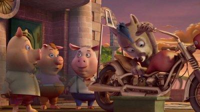 Dessins animés : 3 Cochons et un Bébé