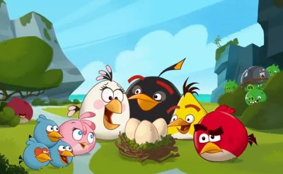 Dessins Animés : Angry Birds