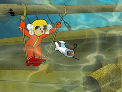 Dessins animés : Aventures sous-marines