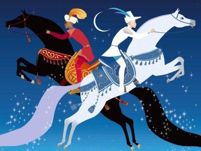 Dessins animés : Azur et Asmar