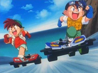 Dessins animés : Bakusō Kyōdai Let's & Go!!