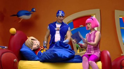 Dessins animés : Bienvenue à Lazy Town