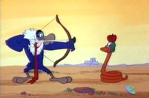 Dessins animés : Buzzard et Vermisso