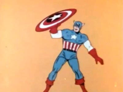Dessins animés : Capitaine America