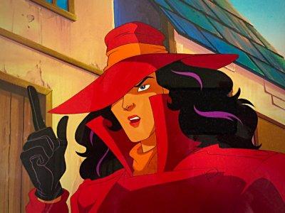 Dessins animés : Carmen Sandiego