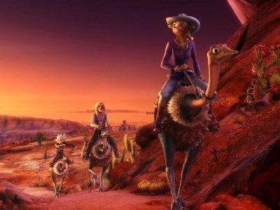 Dessins animés : Cendrillon au Far West