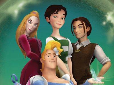 Dessins animés : Cendrillon et le Prince pas trop charmant