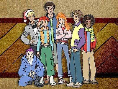 Dessins animés : Classe des Titans (Class of the Titans)