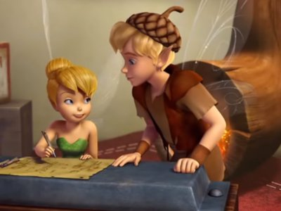 Dessins Animés : Clochette et la Pierre de lune (Tinker Bell and the Lost Treasure)