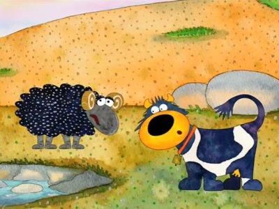 Dessins animés : Connie la vache