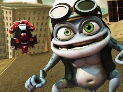Dessins animés : Crazy Frog