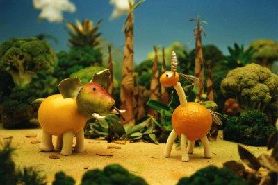 Dessins animés : Croquesel et les animaux des quatre saisons