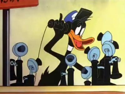 Dessins animés : Daffy Duck