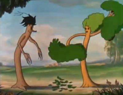 Dessins animés : Des arbres et des fleurs (Silly Symphonies)