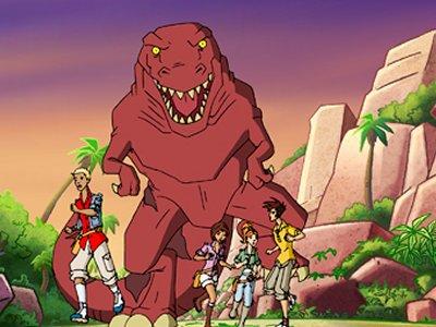 Dessins Animés : Dinosaur Island