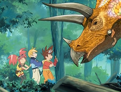 Dessins animés : Dinosaur King