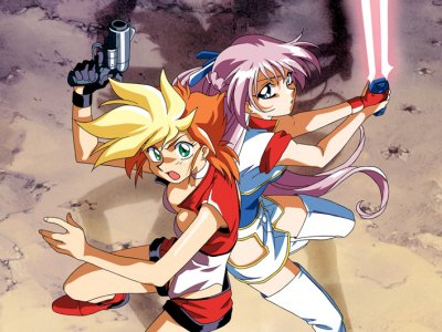 Dessins animés : Dirty Pair Flash (Dāti Pea Flash)