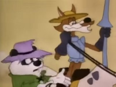 Dessins Animés : Don Coyote et Sancho Panda