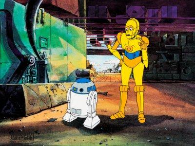 Dessins animés : Droïdes : Les Aventures de R2-D2 et C-3PO (Star Wars: Droids)